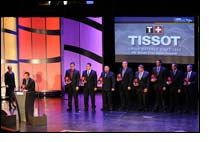 Tissot celebrates NASCAR Sprint Cup Series Champion's Week