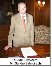 ACIMIT President Mr. Sandro Salmoiraghi