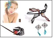 KHT represents Colette Malouf hair accessories