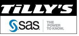 Tilly's deploys SAS Size Profiling as a managed solution