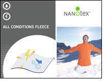 All Conditions Fleece that repels water & resists static