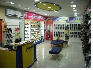 Relaxo footwear showroom in vadodara