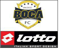 Lotto official gear partner of San Diego Boca FC