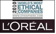 Ethisphere recognises L'Oréal's Ethical Leadership