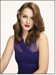 Leighton Meester as spokesperson for Herbal Essences