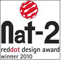 Nat-2 sneaker wins Red Dot design award