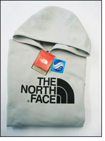 TNF articles treated with Sanitized Silver