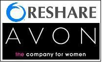 Avon to use Reshare's patented methodology