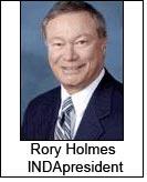 Rory Holmes INDA?president