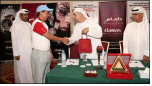 Damas felicitates UAE's winning National Billiards, Snooker teams!