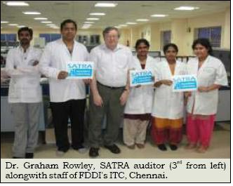 FDDI's ITC, Chennai gets accredited by SATRA