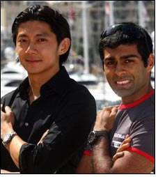 Karun Chandhok & Ho-Pin Tung Tag Heuer's new faces