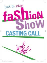 Lord & Taylor casting call for Back to School Fashion