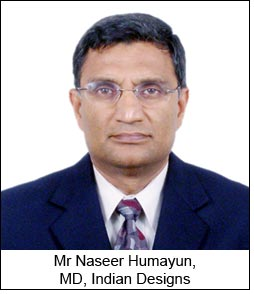 Mr Naseer Humayun, MD, Indian Designs