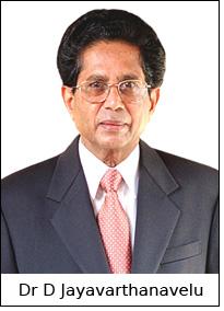 Dr D Jayavarthanavelu