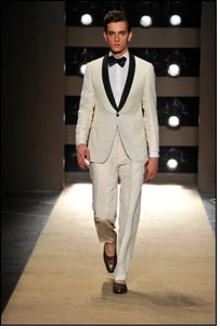 Spring/Summer 2011 men's collection from Gianfranco Ferré
