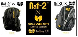WuTang presents Nat-2 & WuWear bookbag 2.0
