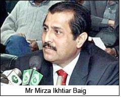Mr Mirza Ikhtiar Baig