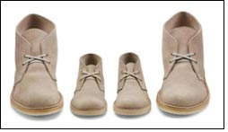 Rebirth of two iconic styles of Clarks Originals for kids