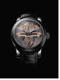 Bi-axial Tourbillon watch from Girard-Perregaux at Damas