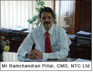 Mr Ramchandran Pillai, CMD, NTC Ltd