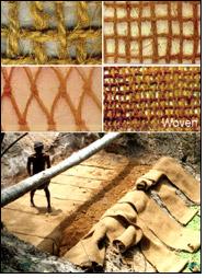 New range of application of coir geotextiles on rural roads