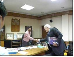 High level French delegation visits FDDI