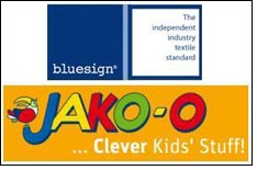 JAKO-O adopts bluesign for environmental friendly textiles