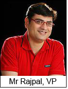 Mr Rajpal, VP, Apparel Brands, Spencers Retail