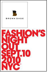 Brown Shoe celebrates Fashion's Night Out in Los Angeles