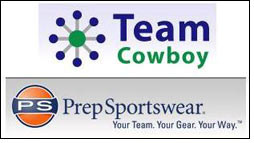 Team Cowboy's sports management tool for Prep Sportswear