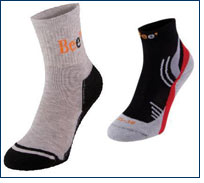Bee 1 socks from Pieffe feature Thermo °Cool technology