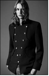 Fashion designer Antony Price for Topman A/W 10