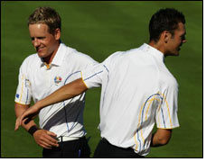 European Ryder Cup Team' s victory with ADVANSA Thermo °Cool
