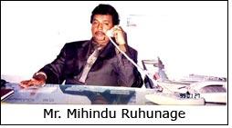 Mr. Mihindu Ruhunage