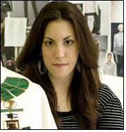 Mary Katrantzou bags fashion prize by Swiss Textiles