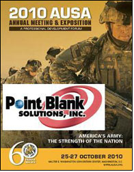 Point Blank to exhibit improved IOTV at AUSA Conference