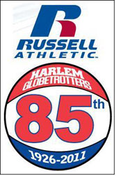 New athletic apparel deal between Harlem & Russell