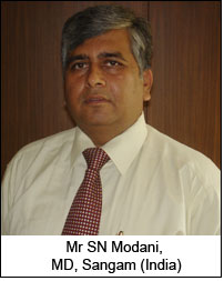 Mr SN Modani, MD, Sangam (India)