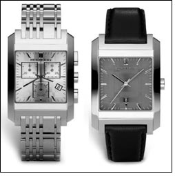 Burberry launches A/W 2010 timepiece collection
