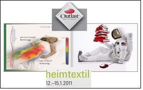 Outlast to present infrared testing at Heimtextil