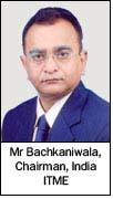 Mr Bachkaniwala, Chairman, India ITME