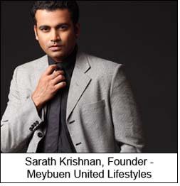 Sarath Krishnan, Founder - Meybuen United Lifestyles