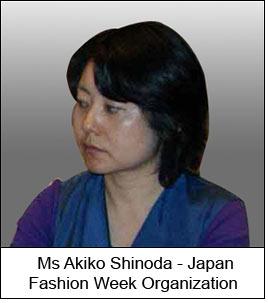 Ms Akiko Shinoda - Japan Fashion Week Organization