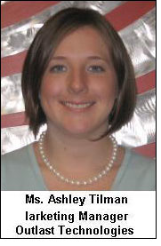 New role of Ashley Tilman at Outlast technology