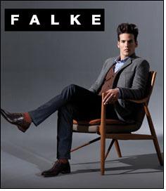 Three themes for FALKE's men for Autumn/Winter