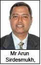 Mr Arun Sirdesmukh, CEO – Reliance Trends