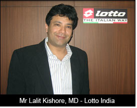 Mr Lalit Kishore, MD - Lotto India