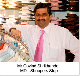 Mr Govind Shrikhande, MD - Shoppers Stop