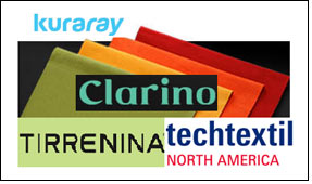 Clarino to display Tirrenina applications at Techtextil NA